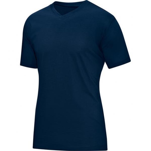 T-shirt-herremodel - blå - pris 199, - kr.